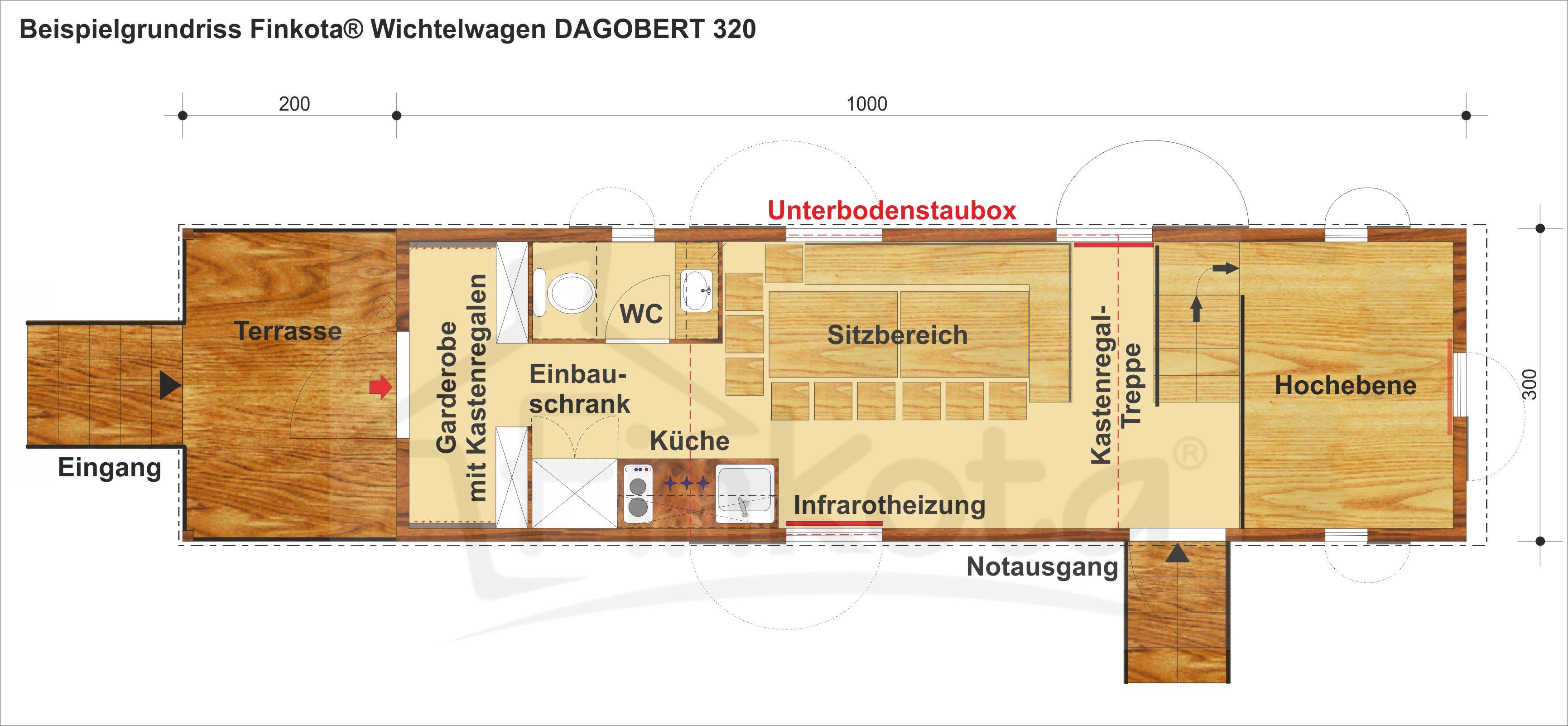 Grundriss Dagobert 320
