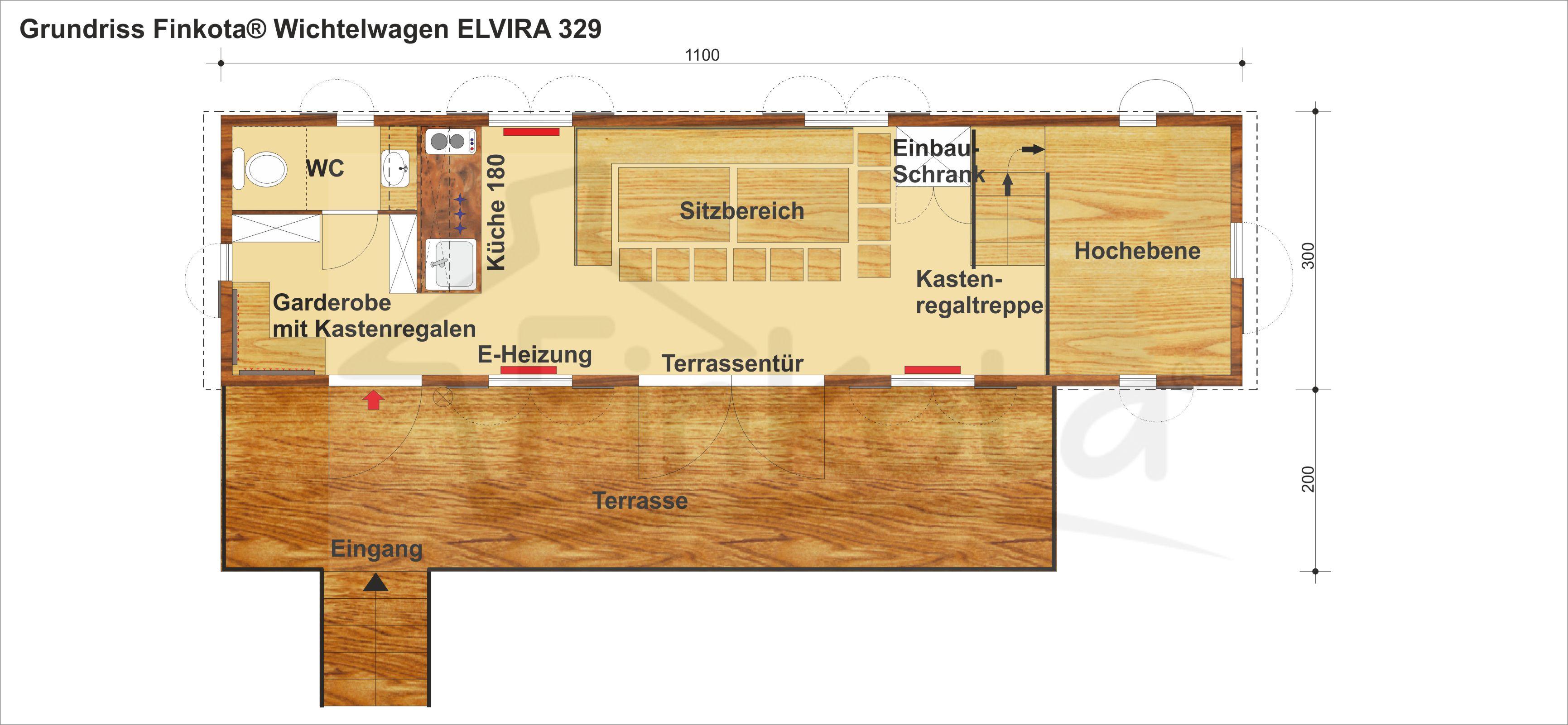 Elvira 329 Grundriss