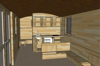 Elvira 326 Innenansicht Küche