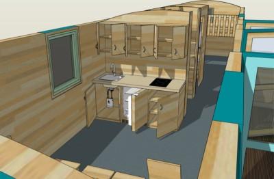 Detailansicht Küche 180