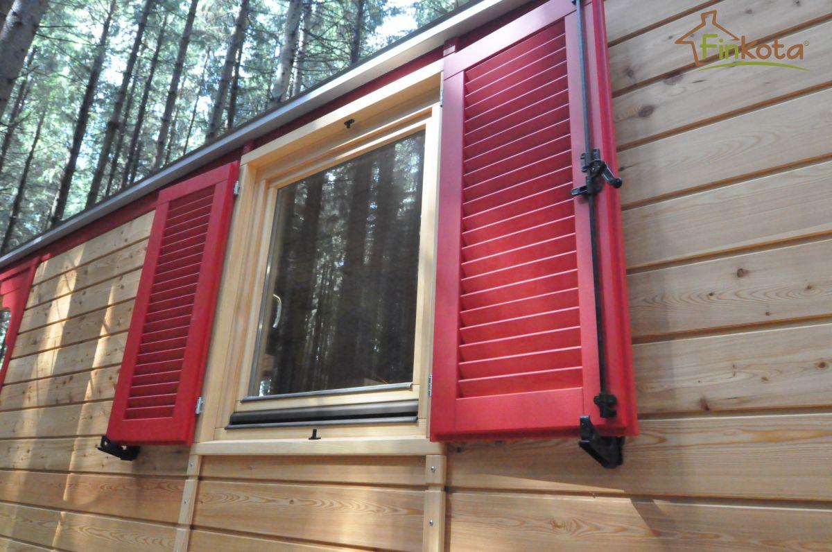 Basic Fenster groß mit Doppelläden