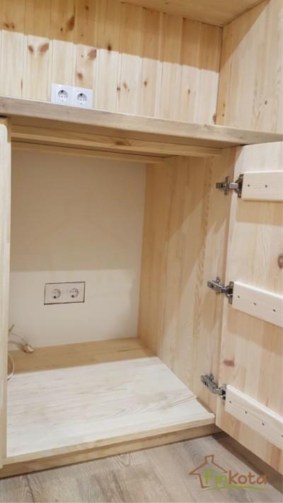 Kühlschrankvorbereitung im Unterschrank